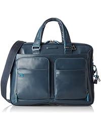 Piquadro Blue Square Kurzgrifflaptoptasche mit iPad/iPad Air-Fach 39 cm