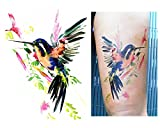 Temporäre Tattoos Temporary Tattoo Fake Tattoo -KOLIBRI-