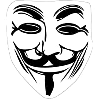1art1® V De Vendetta - Máscara Guy Fawkes Vinilo Decorativo Pegatina Autoadhesivo (9 x 9cm)