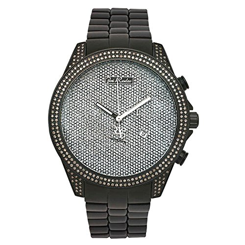 Joe Rodeo Diamond orologio da uomo - Empire nero 2.25 Ctw