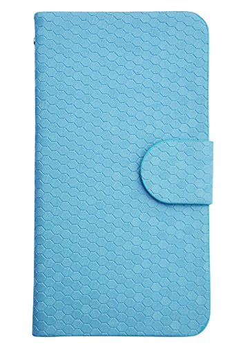 Apple iPhone SE Glitz Flip Cover Case Coque de Protection Housse Couverture en cuir artificiel (or) + 1x Gratuit Protecteur D'écran Blue