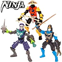 Jugueteriaonline 4893808850634 - Figura ninja playset 3 ()