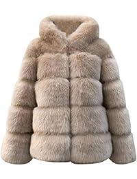 Amazon.it  pelliccia ecologica donna  Abbigliamento 8e3ec55746a