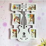 Limiz 6 multi-marco foto-pared combinación foto marco guitarra empalme plástico boda Europea 46 * 66cm