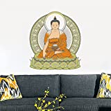 #9: Rawpockets Buddha Wall Sticker