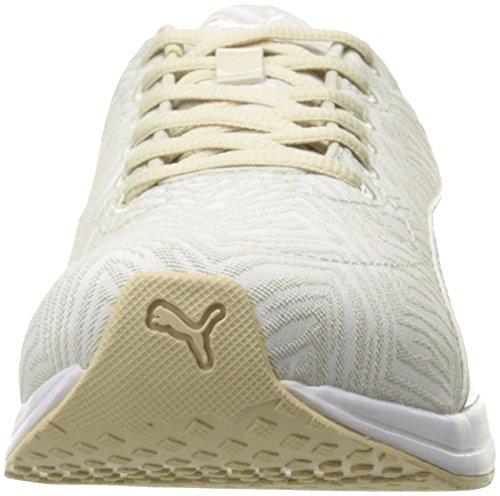Puma Women s Burst Chevron WN s Cross-Trainer Shoe  Oatmeal White  6 UK