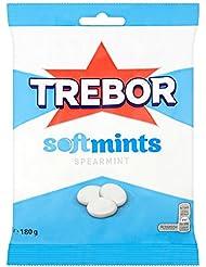 Trebor Softmints Spearmint Sweets Bag, 180 g