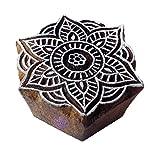 Royal Kraft Handgefertigt Holzblöcke Runden Mandala Entwürfe Drucken Stempel