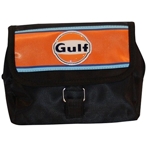 Continental Racing Gulf Collection Sat Nav Bag - Orange (Stripes Pouch)