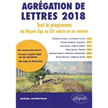 Agrégation de lettres 2018