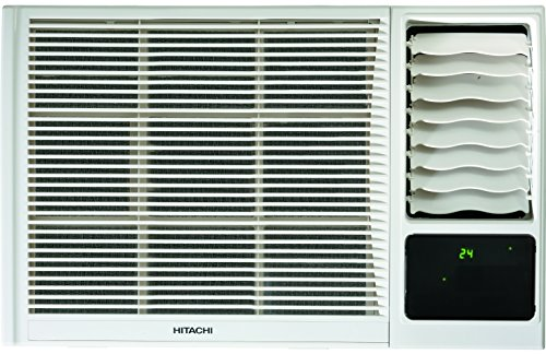 Hitachi 1 Ton 3 Star Window AC (Copper, RAW312KXDAI, White)