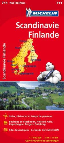 Descargar Libro Carte NATIONAL Scandinavie, Finlande de Collectif Michelin
