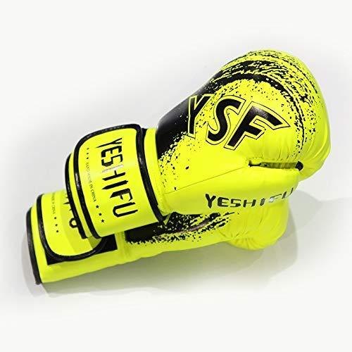 ACDB Gloves Trainingshandschuhe Unisex Boxhandschuhe Trainingshandschuhe Sanda Fight MMA Wettkampfhandschuhe Sandsäcke Handschuhe Sporthandschuhe