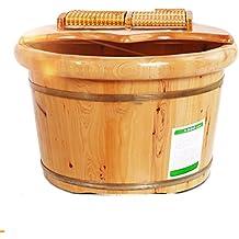 XWG Foot Bath Pied Barrel Foot Massage Bassine Bois Foot Bath bain de pieds Bois Bassin Bois Barrel foot bath bucket
