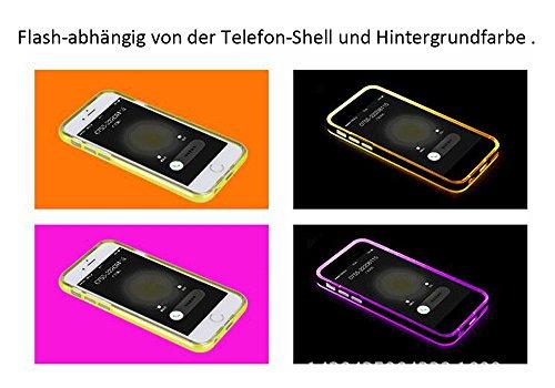 iPhone 6 Plus / 6s Plus Coque Ultra Slim TPU Bumper Résistance Protection Cover Téléphones Cases pour Apple iPhone 6 Plus / 6s Plus (Bleu) Noir