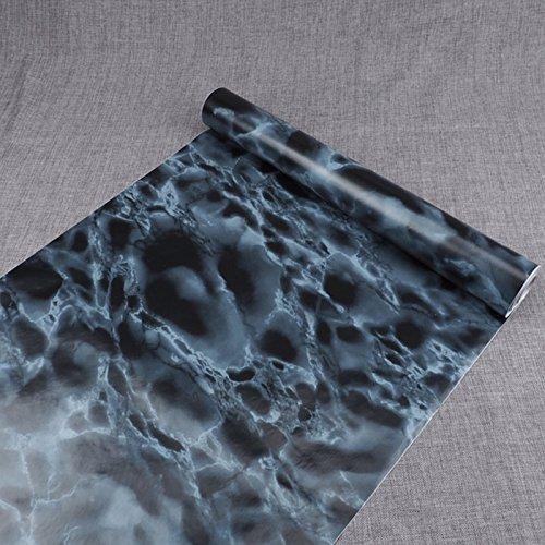 Zhzhco Selbstklebendes Papier Für Wandplakate Tapetenkleister Aus Marmor Wohnzimmer Schlafzimmer Fixture Shop Wasserdicht Und Öl-Proof Wall Sticker (10-Meter-Langen *45Cm Breit)