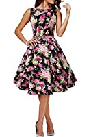 "Black Butterfly Abito vintage anni '50 ""Audrey"" Divinity"