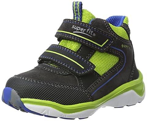 Superfit Jungen SPORT5 Hohe Sneaker, Grau (Charcoal Multi), 30 EU