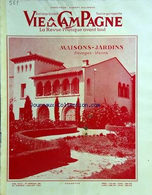VIE A LA CAMPAGNE [No 561] du 01/07/1957