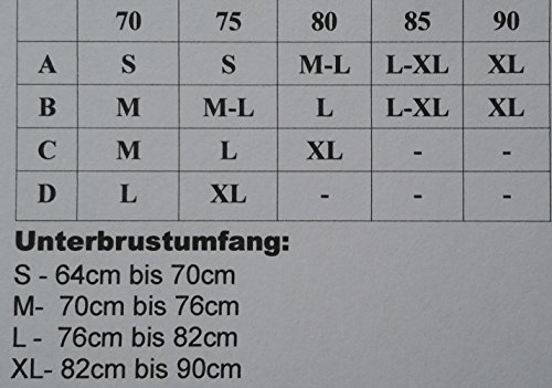 Enetal Natur&Damen - Bustier - Femme 2 X Dunkelblau (Sterne)