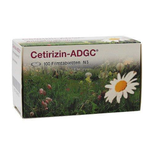 Cetirizin-ADGC 100 stk
