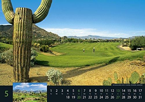 Golf 2018 - Sportkalender / Golfkalender international (49 x 34) - 7