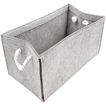 Korb-Set RIMOSSA Badezimmer Wohnraum-Accessoires Aufbewahrungsboxen Deko Flechtoptik gr/ün Regalk/örbe MamboCat Kela 2-tlg PP-Kunststoff