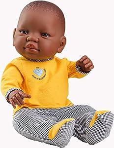 Paola Reina Paola reina05154Aldea Africana bebé niña niños muñeca, 45cm