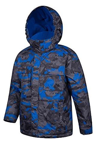 Mountain Warehouse Veste de Ski enfant Gaçon Hiver Blouson Pare-neige