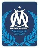 OM Plaid polaire 110x140 cm Olympique de Marseille