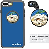 Ztylus Designer Revolver M Series Camera Kit: 6 In 1 Lens With Case For IPhone 7 Plus/8 Plus - 2X Telephoto Lens, Macro, Super Macro Lens, Wide Angle Lens (Wolverine Blue)