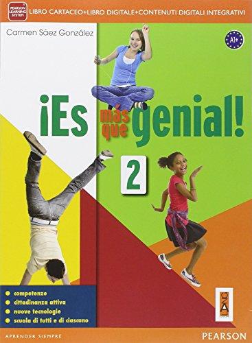 ¡Es mas que genial. 2. Per la Scuola media! Libro cartaceo + ITE + Didastore