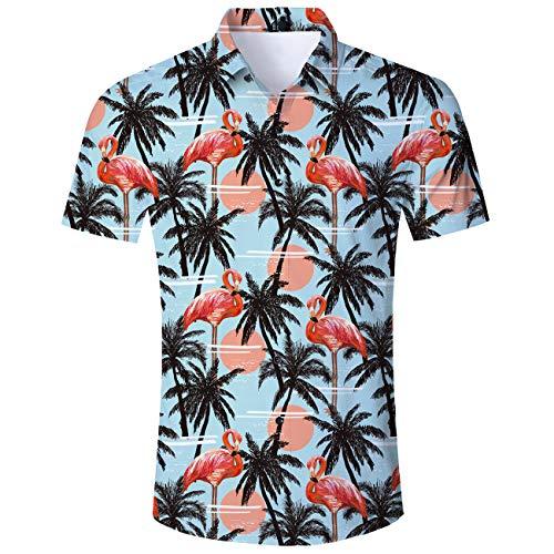d Plus Size 3D Ananas gedruckt Kurzarm Hemden Shirts Freizeit Strand T Hemden Shirt ()