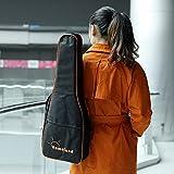 """Andoer 600D 26 """"27"""" Waterproof Ukulele Bag Large Nylon Adjustable shoulder bag - 5 mm Padded Cotton for Tenor Ukulele"""