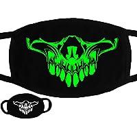San Bodhi Halloween Totenkopf Muster Soft Baumwolle Luminous Maske Winter Unisex mouth-muffle preisvergleich bei billige-tabletten.eu