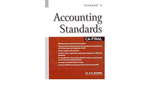 Buy Accounting Standards: CA - Final Book Online at Low Prices in