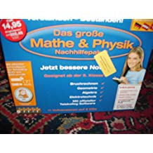 Das große Mathe & Physik Nachhilfepaket(Bruchrechnen, Geometrie, Algebra, Elektrotechnik ud offizieller Telekolleg Software)