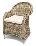 "Rattan-Sessel ""Koboo Grey"""