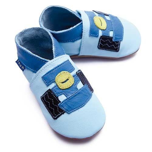 Inch Blue, Jungen Babyschuhe - Lauflernschuhe  Blau 20-22 cm
