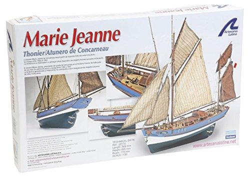 Artesanía Latina 22170 - Modell aus Holz: Thunfischboot Marie Jeanne 1/50