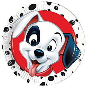 Plastic Disney 101 Dalmatians Tablecloth 1.8m x 1.2m