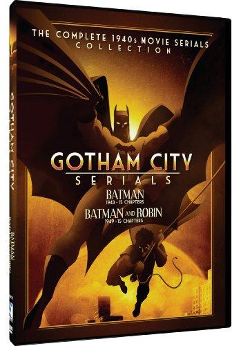 Gothan City Serials: Batman / Batman and Robin (2 DVDs) [RC 1]