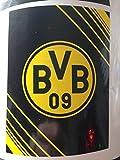 BVB Borussia Dortmund Fleecedecke 150x200cm schwarz/gelb 100%Polyester