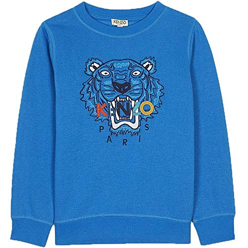 8b771868 Kenzo Kids Tiger Sweatshirt Blue Blue 6 Years