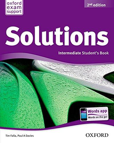 Solutions Intermediate Student's Book Pack 2ª Edición (Solutions Second Edition) - 9788467382013 por Tim Falla