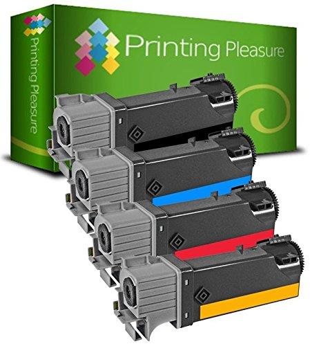 4 Toner Compatibili per Xerox Phaser 6125 / 6125 N / 6125 V / 6125 W / 106R01334 / 106R01331 / 106R01332 / 106R01333 Nuovo non Rigenerato