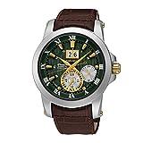 Seiko Herren-Armbanduhr Automatik Leder SNP127P1