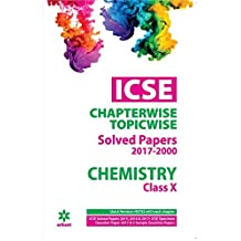 ICSE Chemistry Chapterwise Solved Papers Class 10th