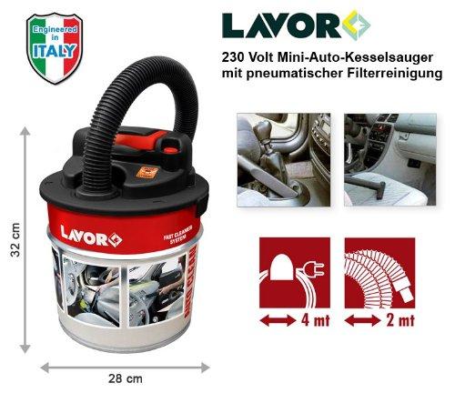 Lavor Auto Clean 230 V Autosauger, KFZ-/PKW- Staubsauger, Mini Kesselsauger - 5