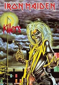 Iron Maiden - Killers - Posterflagge 100% Polyester - Grösse 75x110 cm